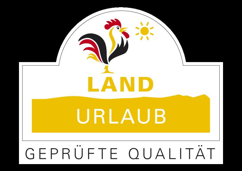 Auszeichnung Qualitätsgeprüfter LandUrlaub bei Landurlaub in Thüringen