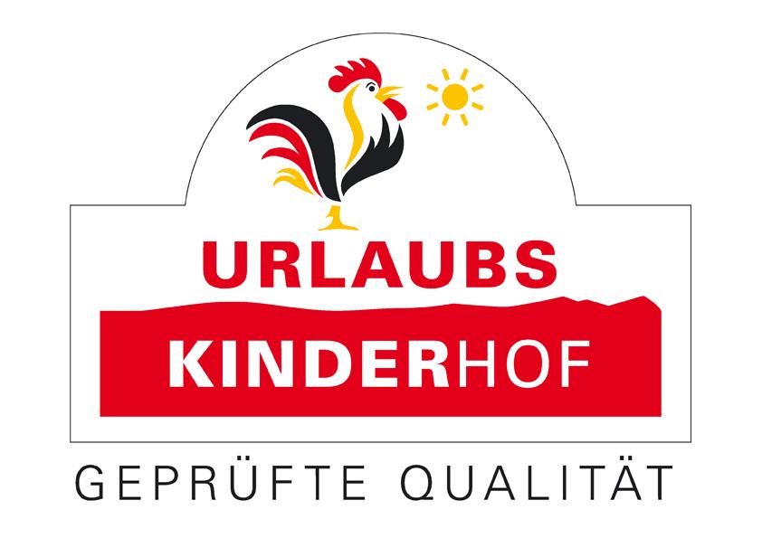 Auszeichnung Qualitätsgeprüfter UrlaubsKinderhof bei Landurlaub in Thüringen